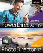 image de la couverture de la boîte de vente du pack PowerDirector + PhotoDirector
