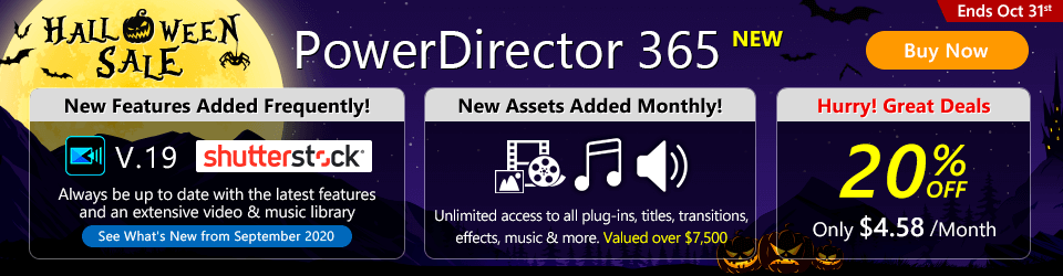 PowerDirector 365: Best video editing software for Windows