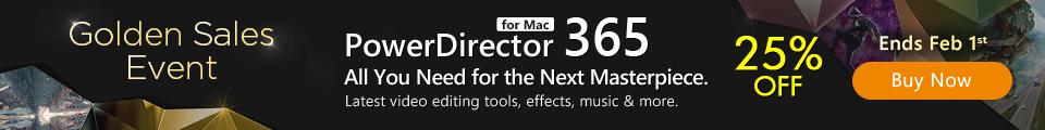PowerDirector 365 for Mac