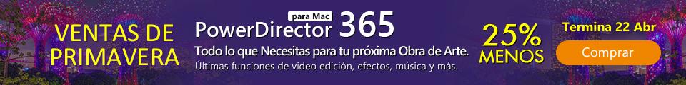 PowerDirector 365 para Mac