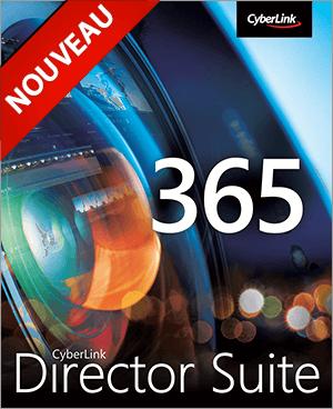 Director Suite 365 - Édition vidéo, photo, audio & colorimétrie