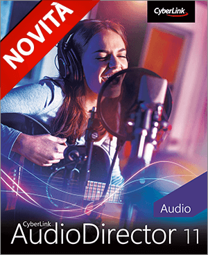 AudioDirector 11: Software di Montaggio Audio e Musica