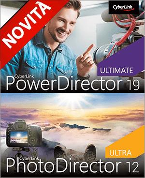 PowerDirector e PhotoDirector: Combinazione di Montaggio Video-Fotografico